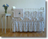 Crib Bedding Sweet William By the Sea pattern