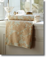 Bath Linens Yves Delome Venise pattern