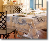 Table linens Beauville Fontainebleau pattern